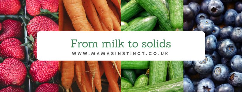 FROM MILK TO SOLIDS: AN APPROACH TO WEANING